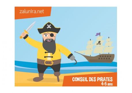 Le conseil des pirates - 4-5 ans