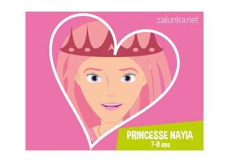 Princesse Nayia - 7-8 ans
